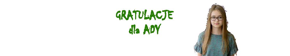 Wielki sukces Adrianny