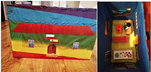 """Julia Zawadzka (klasa 7a) – projekt """"La escuela de mis sueños"""""""