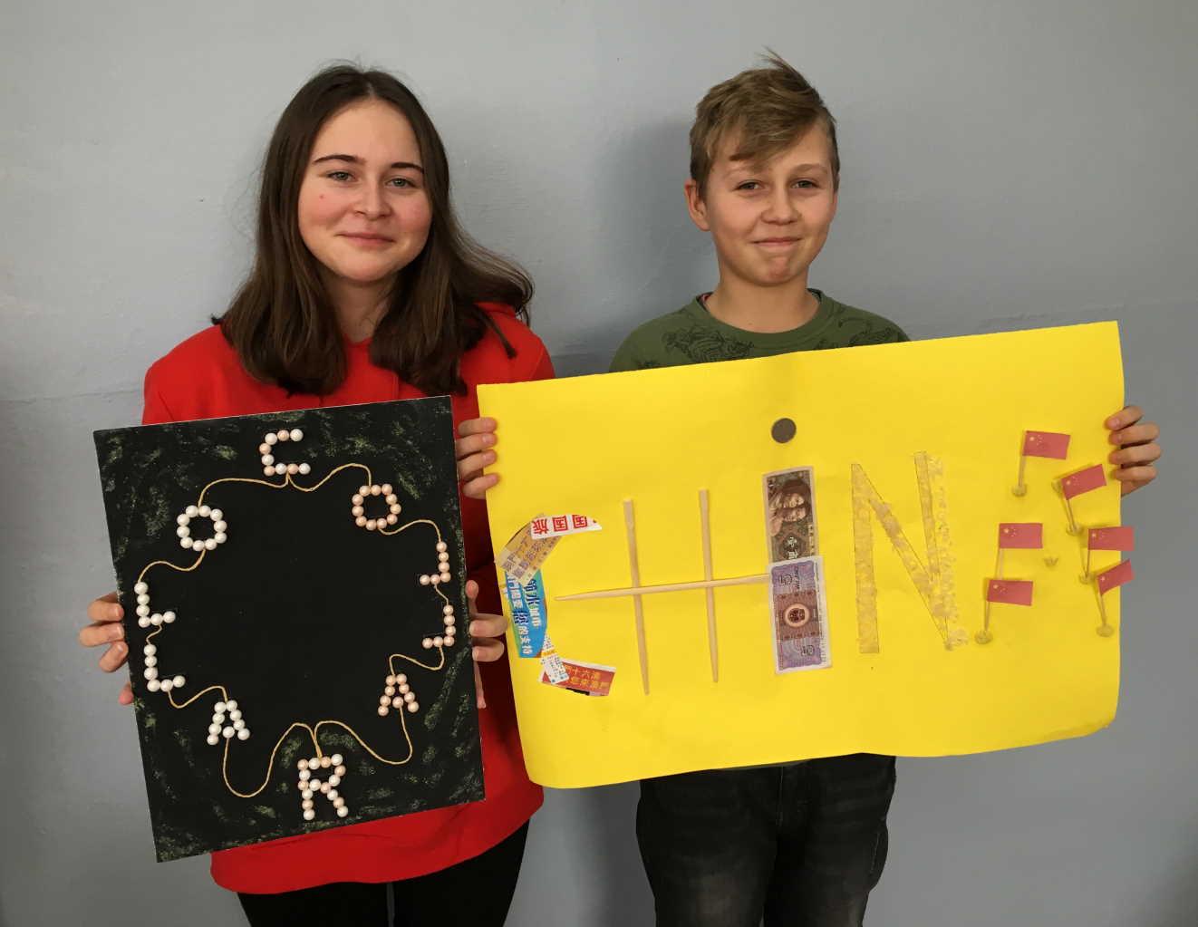 "Julia Ganc i Mateusz Lorentowicz (klasa 8c) – ""Słowo-obraz"""